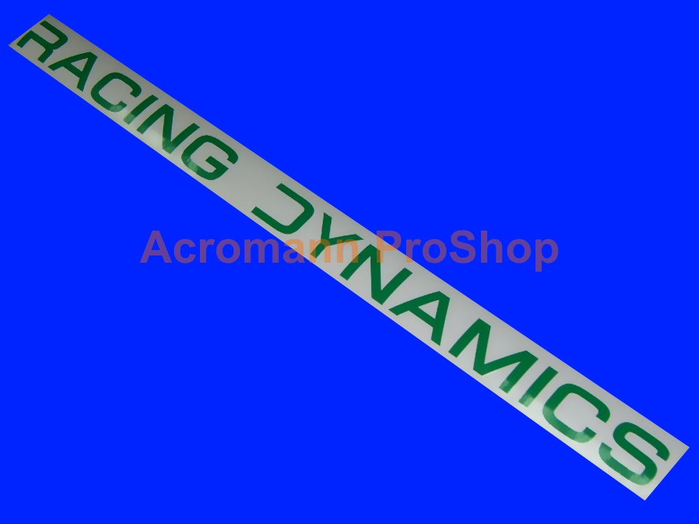 Racing Dynamics 6inch Decal (Style#2) x 2 pcs