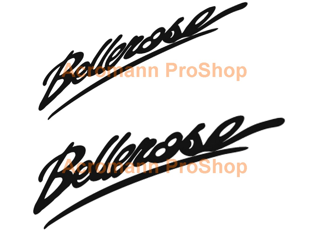 Bellerose 6inch Decal (Style#1) x 2 pcs