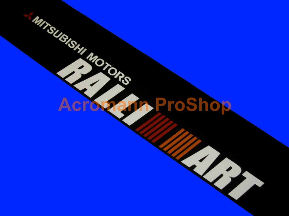 RALLIART Windshield Decal (Style#7)