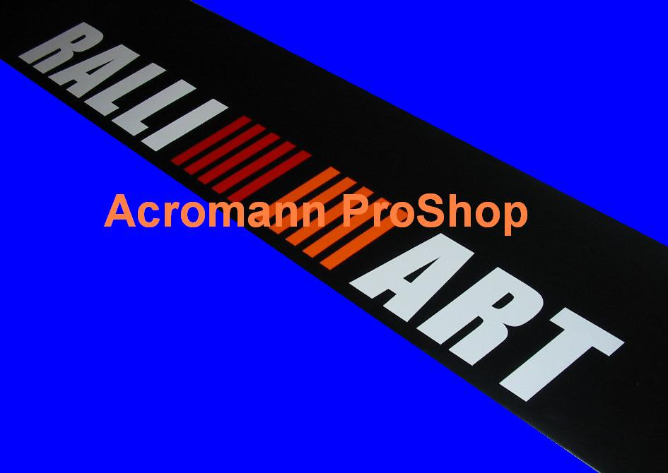 RALLIART Windshield Decal (Style#1) for truck