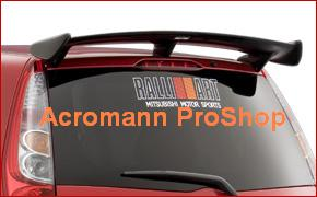 RALLIART 6inch Decal (Style#3) x 2 pcs