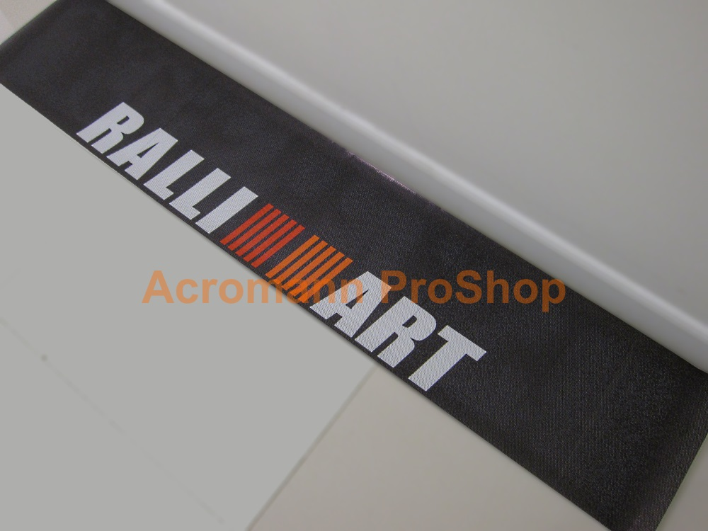 RALLIART dot-visor outside-type Windshield Decal