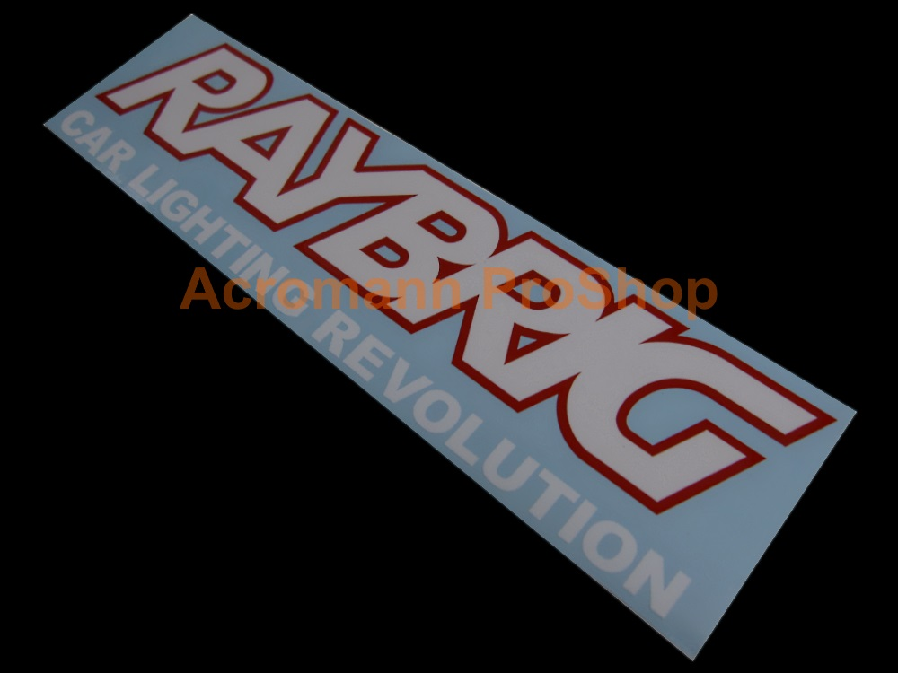 RAYBRIG 6inch Decal (Style#2) x 2 pcs