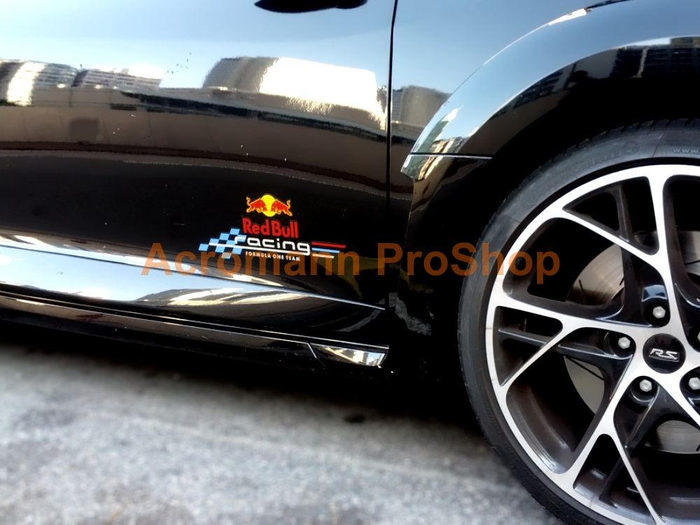 Renault Megane RS 3 265 Cup RB8 Racing F1 Team 8.5inch Decal x 2
