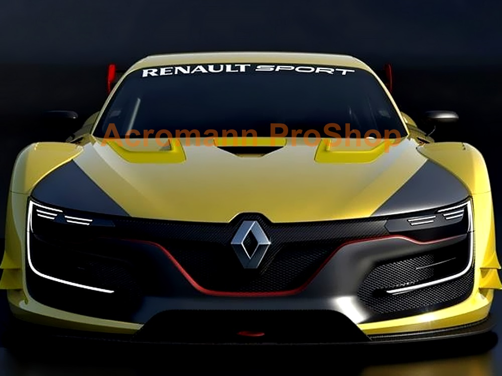 Renault Sport Windshield Decal (Style#3)