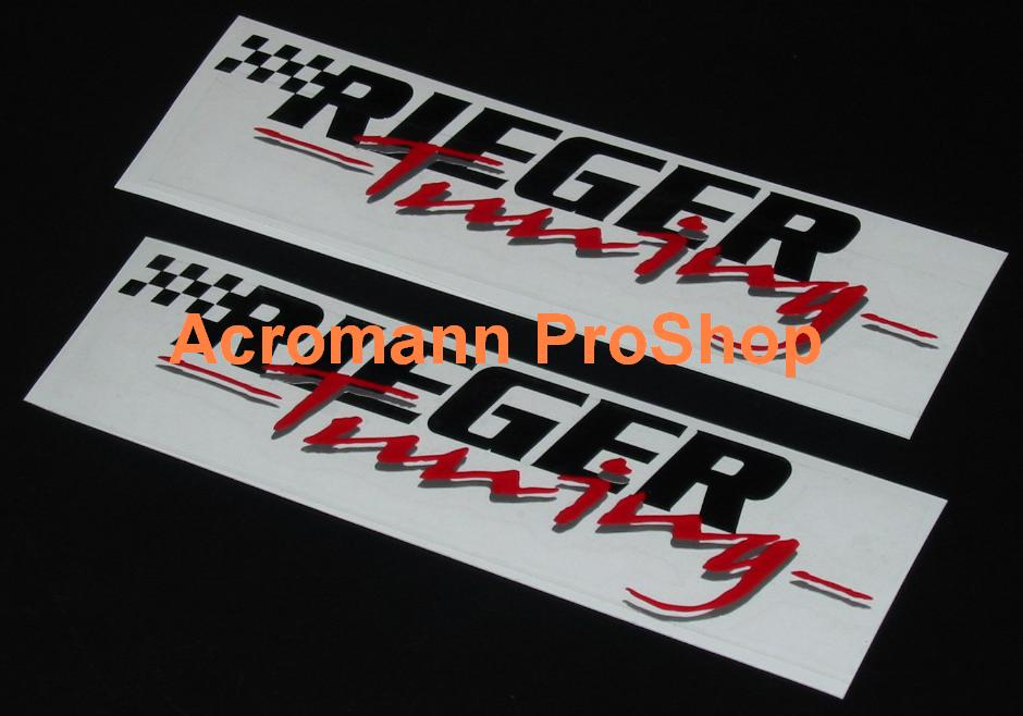RIEGER Tuning 6inch Decal (Style#2) x 2 pcs