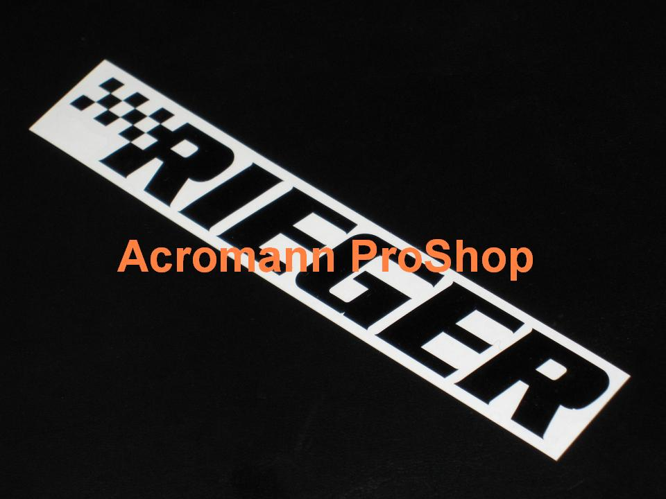 RIEGER 6inch Decal x 2 pcs