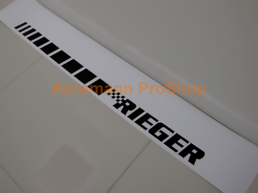 RIEGER Windshield Decal (Style#2)