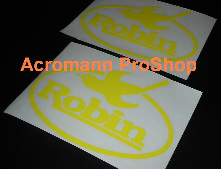 Robin (Subaru) 6inch Decal x 2 pcs