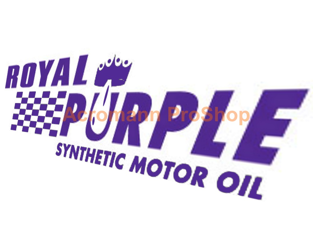 Royal Purple oil 6inch Decal (Style#1) x 2 pcs