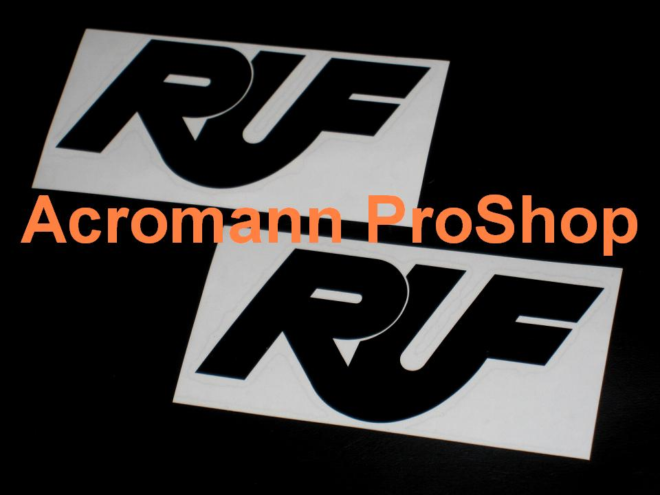 Ruf 3inch Brake Caliper Decal x 2 pcs