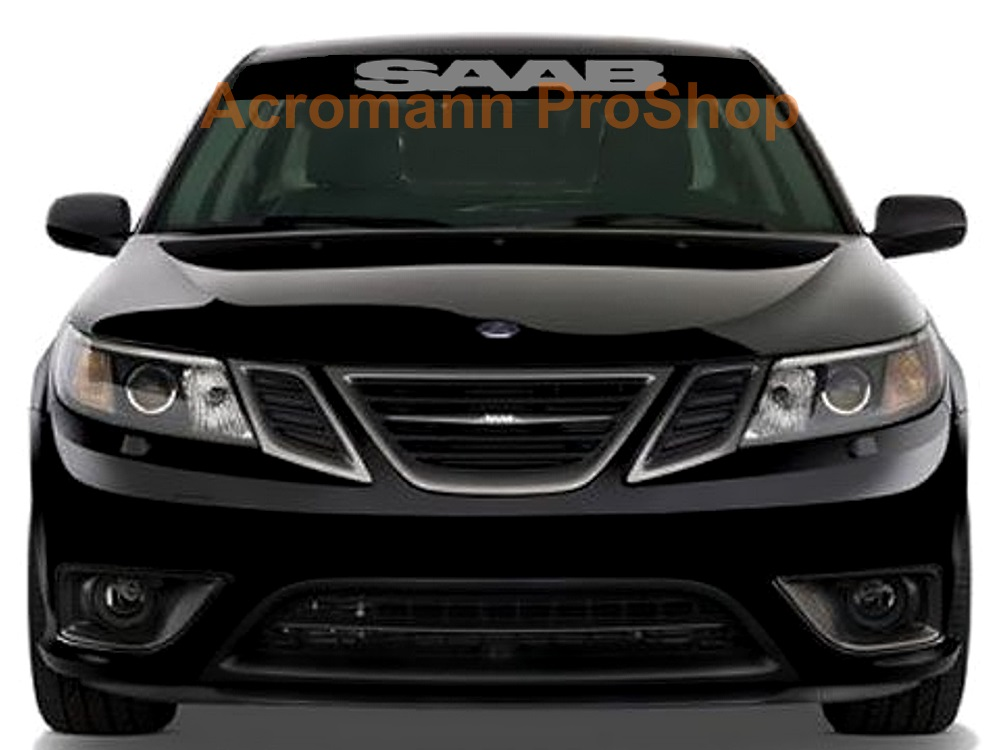 SAAB Windshield Decal (Style#1)