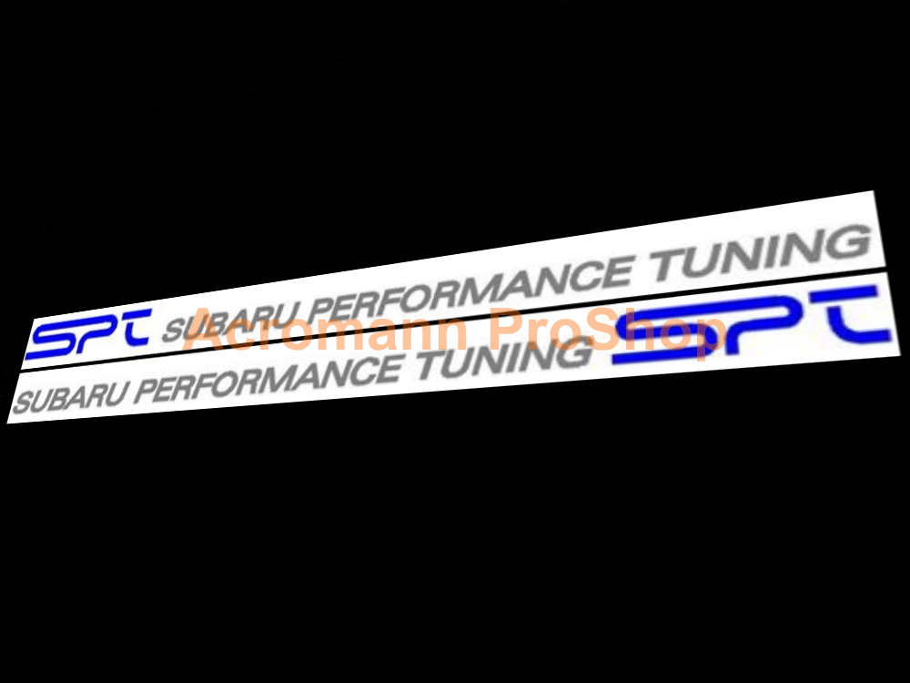 SPT Subaru Performance Tuning GDB Side Door 15inch Decal Sticker