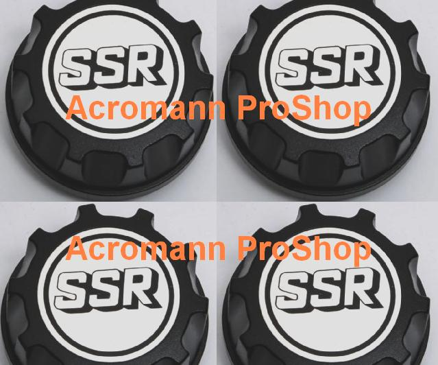 SSR 2.2inch Wheel Cap Decal (Style#2) x 4 pcs