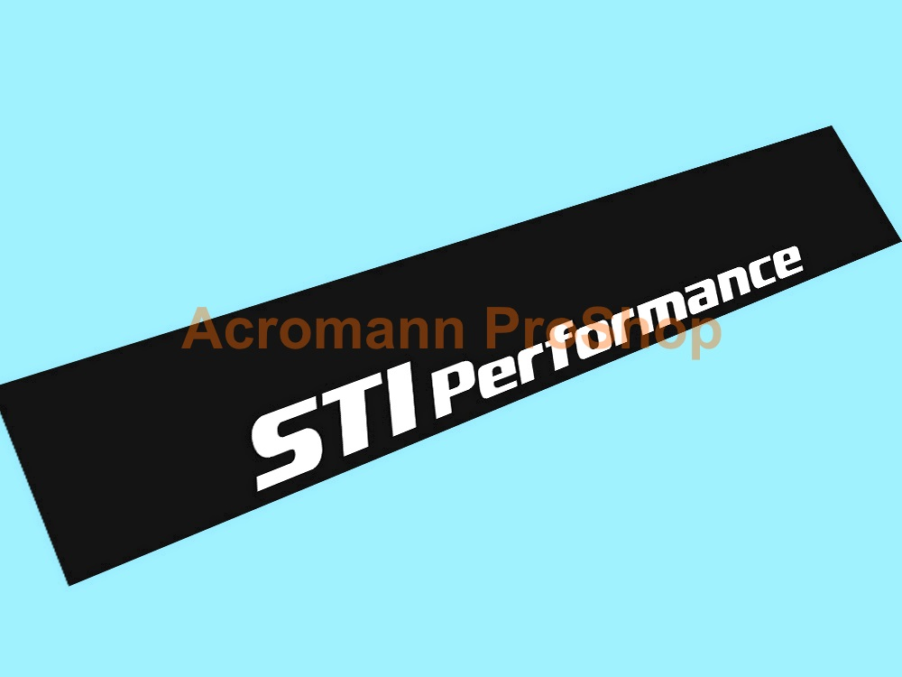 STi Performance Windshield Decal (Style#1)