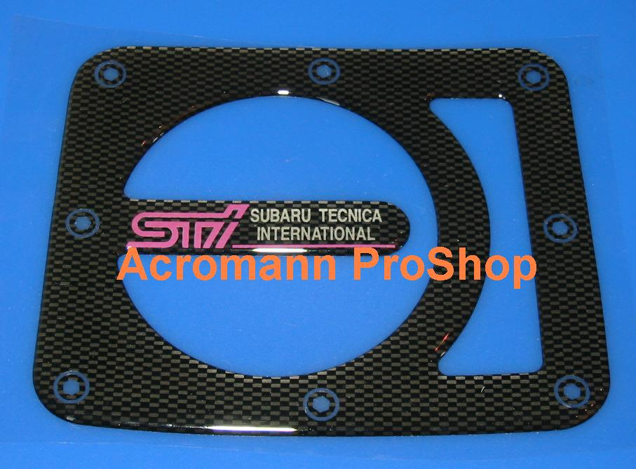 STi Carbon Gas Door Emblem (Style#1)