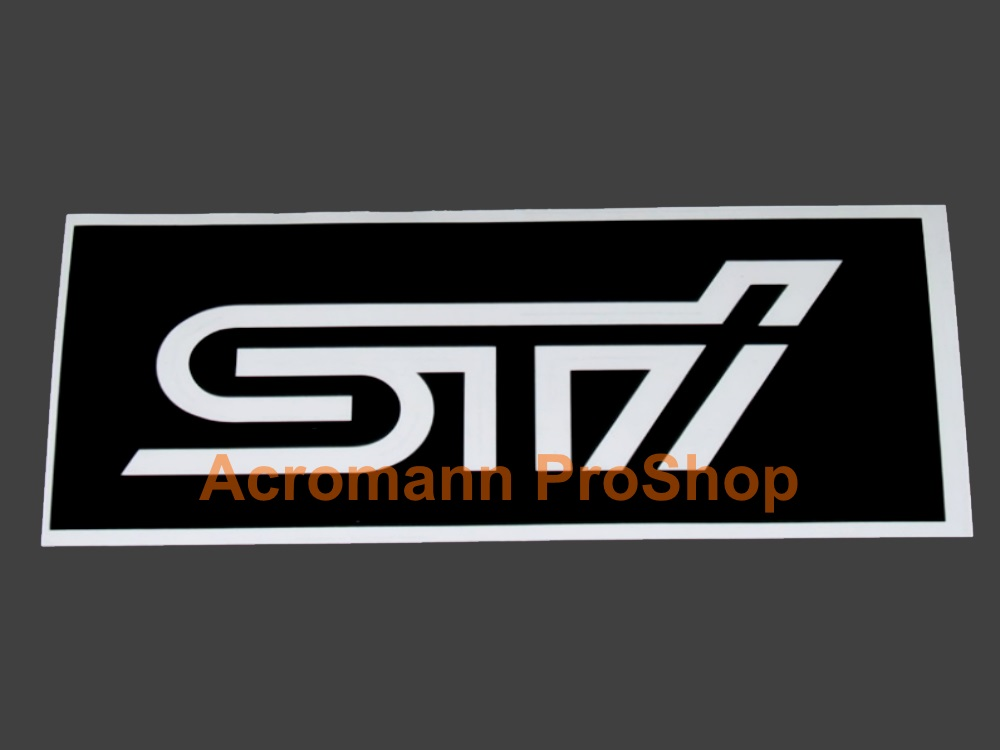 STi 14inch TMIC Stencil Masking Decal x 1 pc
