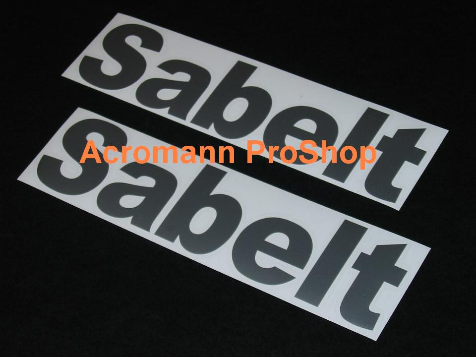 Sabelt 6inch Decal x 2 pcs
