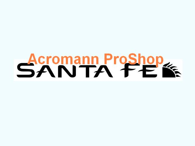 SANTA FE Windshield Decal