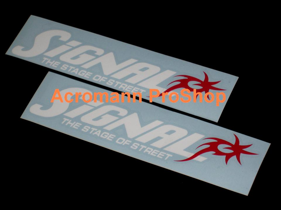 Signal Auto 6inch Decal (Style#1) x 2 pcs