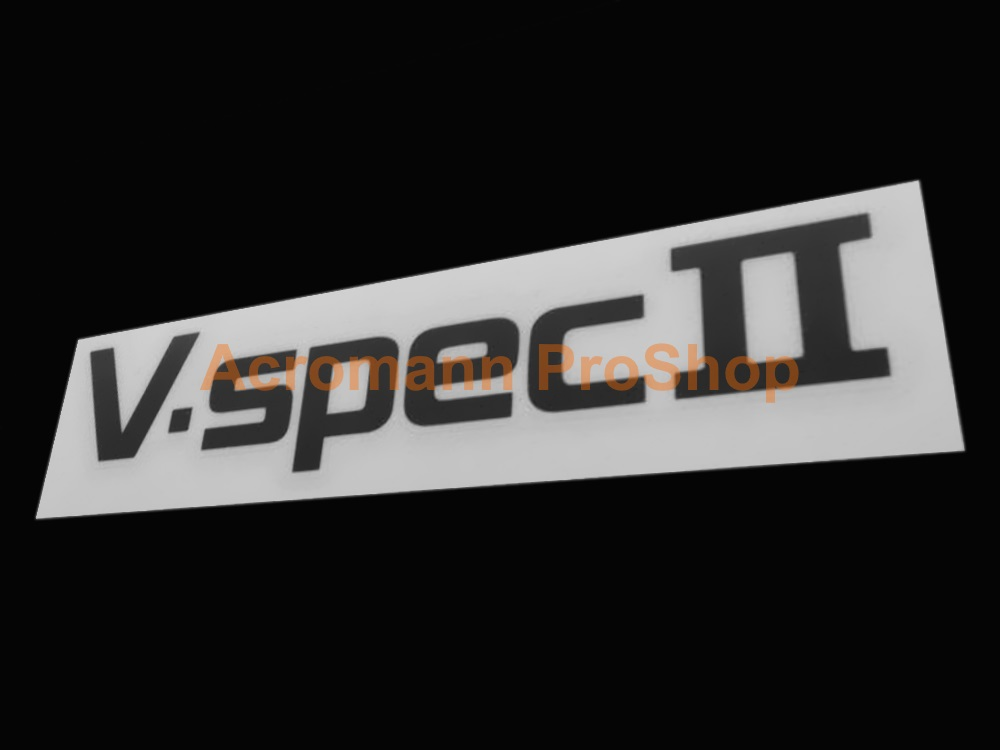 V-Spec II 6inch Decal (Style#1) x 2 pcs