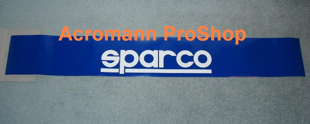 SPARCO Windshield Decal (Style#2)