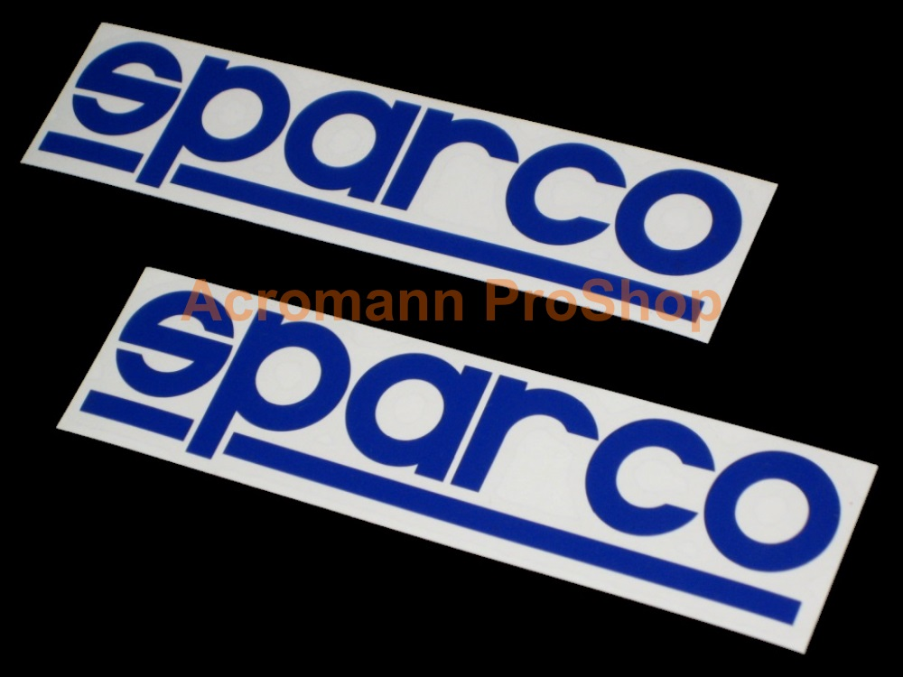SPARCO 6inch Decal (Style#1) x 2 pcs