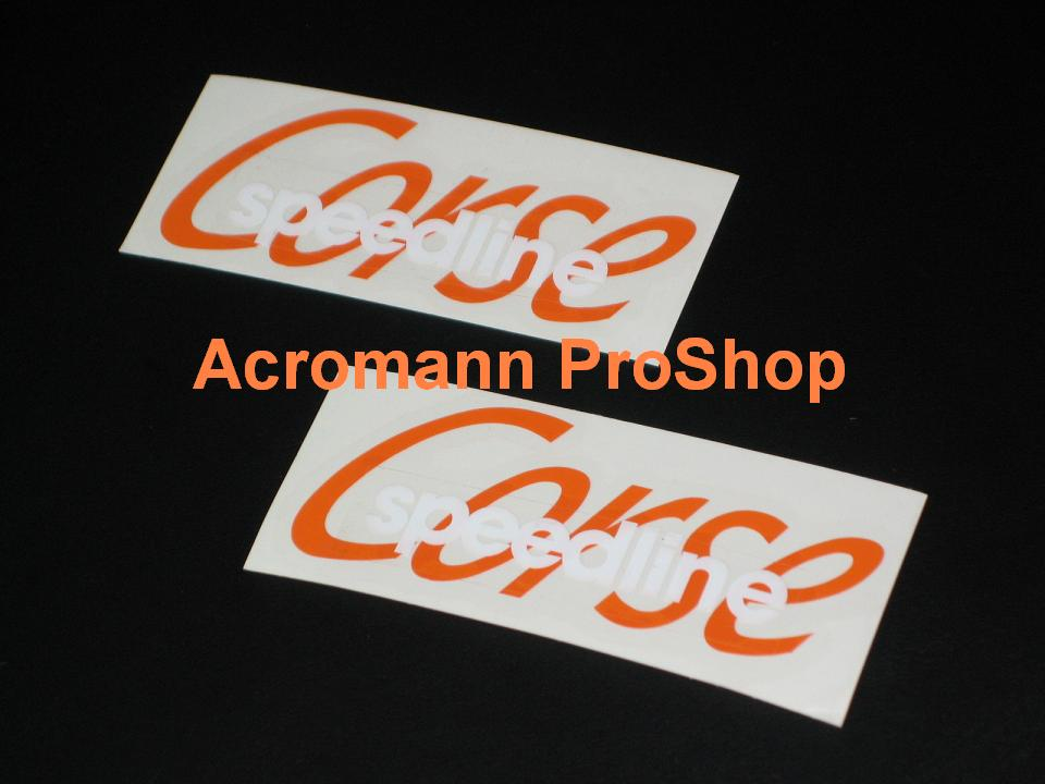 Speedline Corse 6inch Decal x 2 pcs