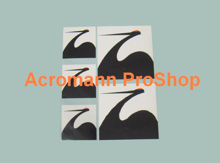 SPOON Crane Decal Set (a set of 5pcs)