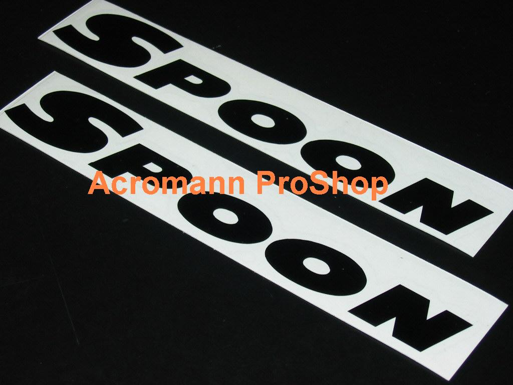 SPOON 6inch Decal (Style#1) x 2 pcs