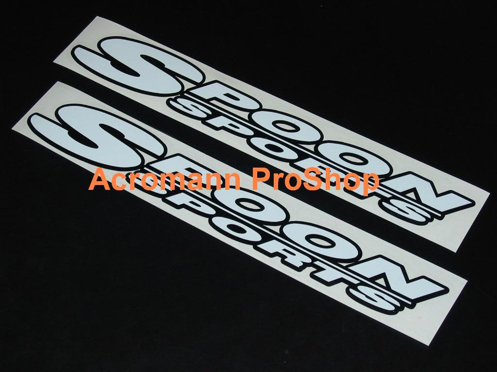 SPOON Sports 6inch Decal (Style#3) x 2 pcs