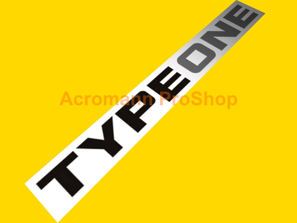 SPOON Type One 6inch Decal (Style#2) x 2 pcs
