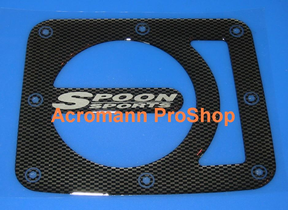 SPOON Carbon Gas Door Emblem (Style#1)