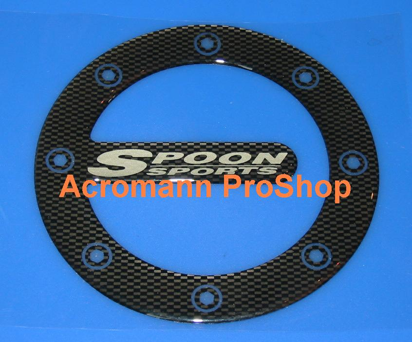SPOON Carbon Gas Door Emblem (Style#2)