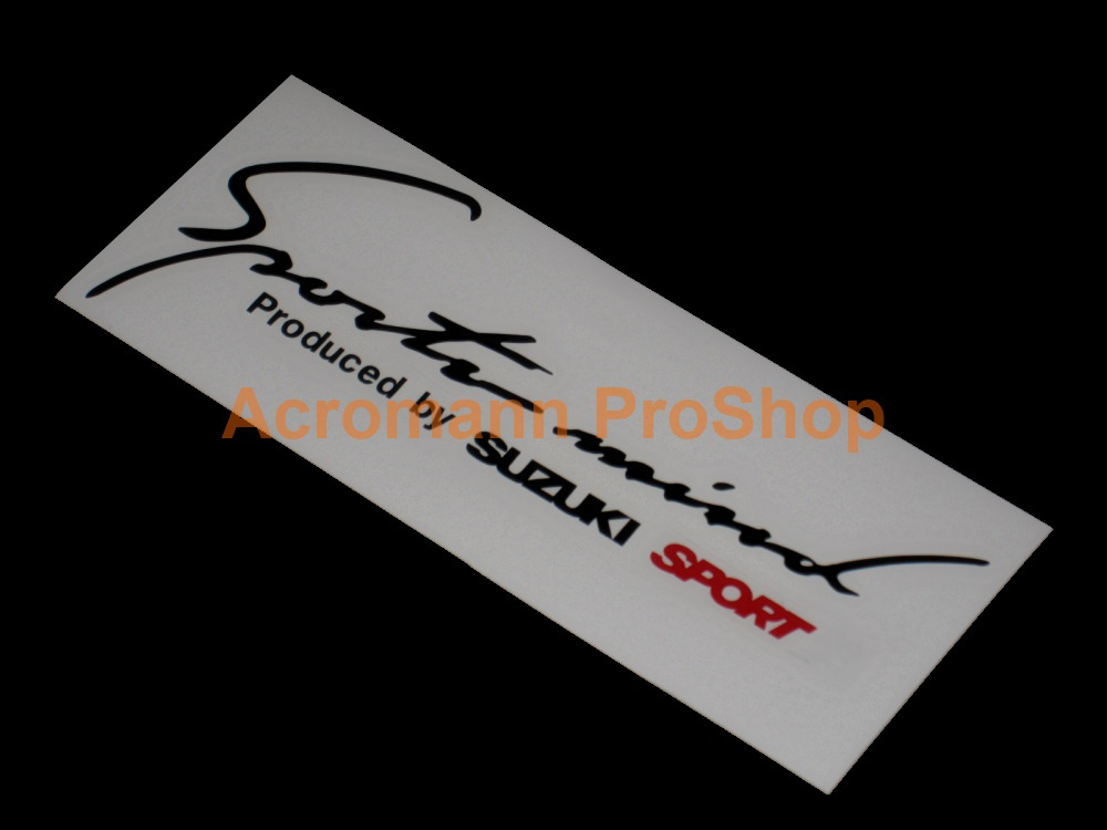 Sports Mind SUZUKI Sport 6inch Decal (Style#2) x 2 pcs