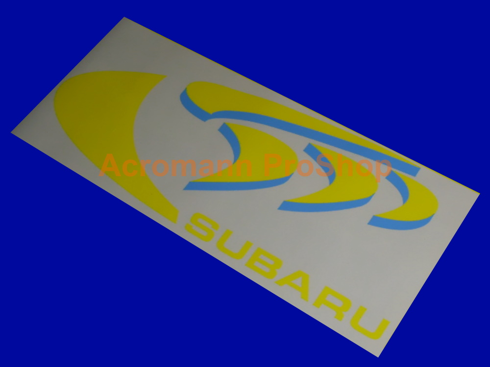SUBARU 555 SWRT WRC Rally WRX GC8 Bonnet Hood Decal Sticker