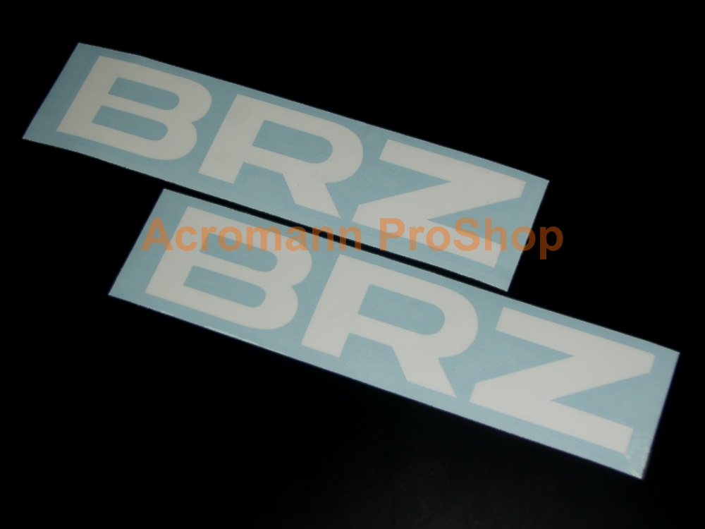 Subaru BRZ 6inch Decal x 2 pcs