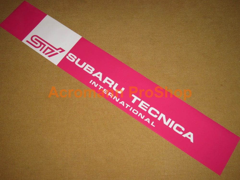 Subaru STi Windshield Decal (Style#2)