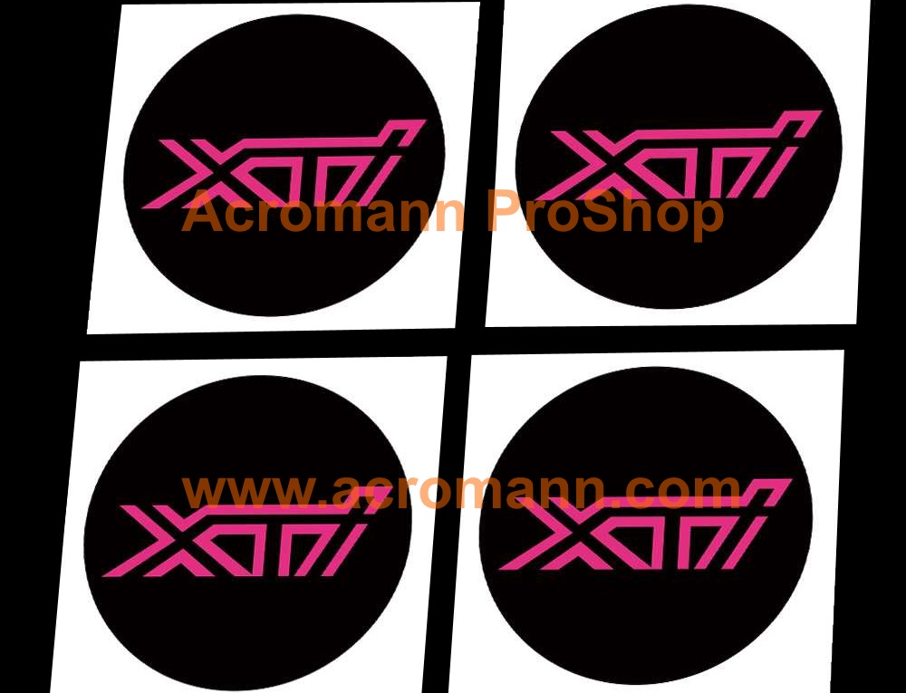 XTi 2.2inch Wheel Cap Decal x 4 pcs
