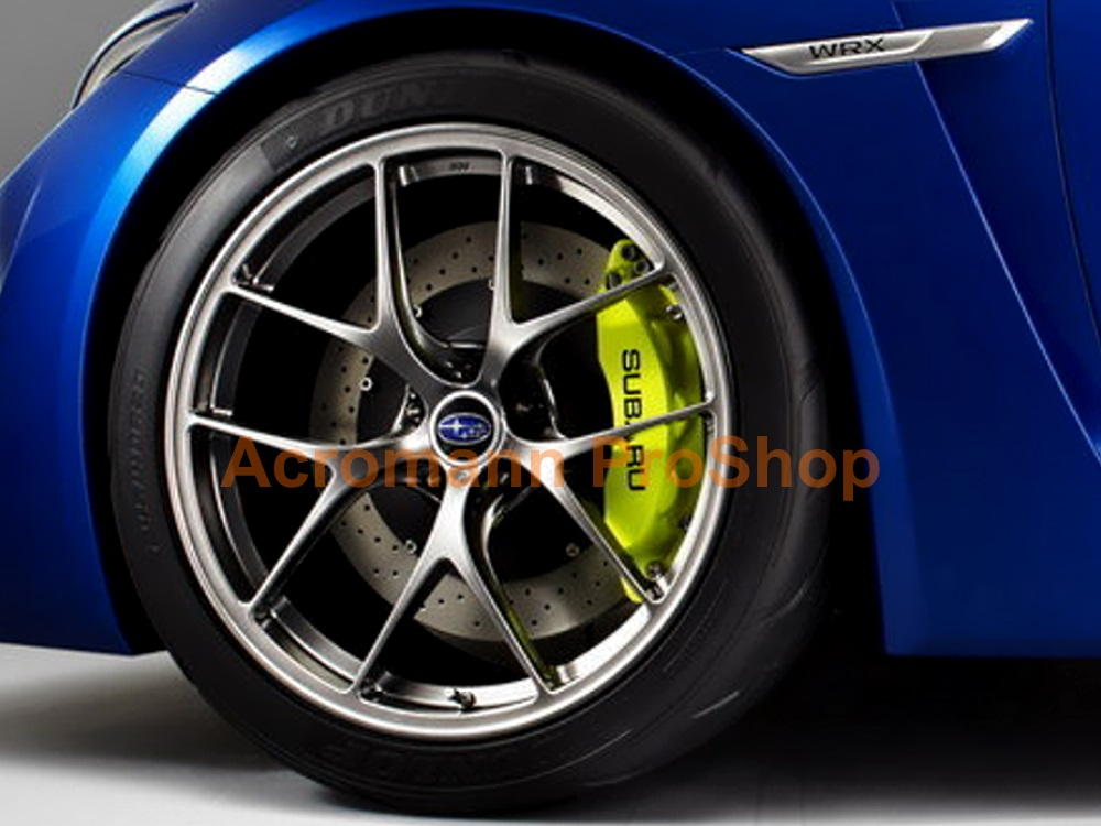 SUBARU 4inch Brake Caliper Decal (Style#1) x 2 pcs