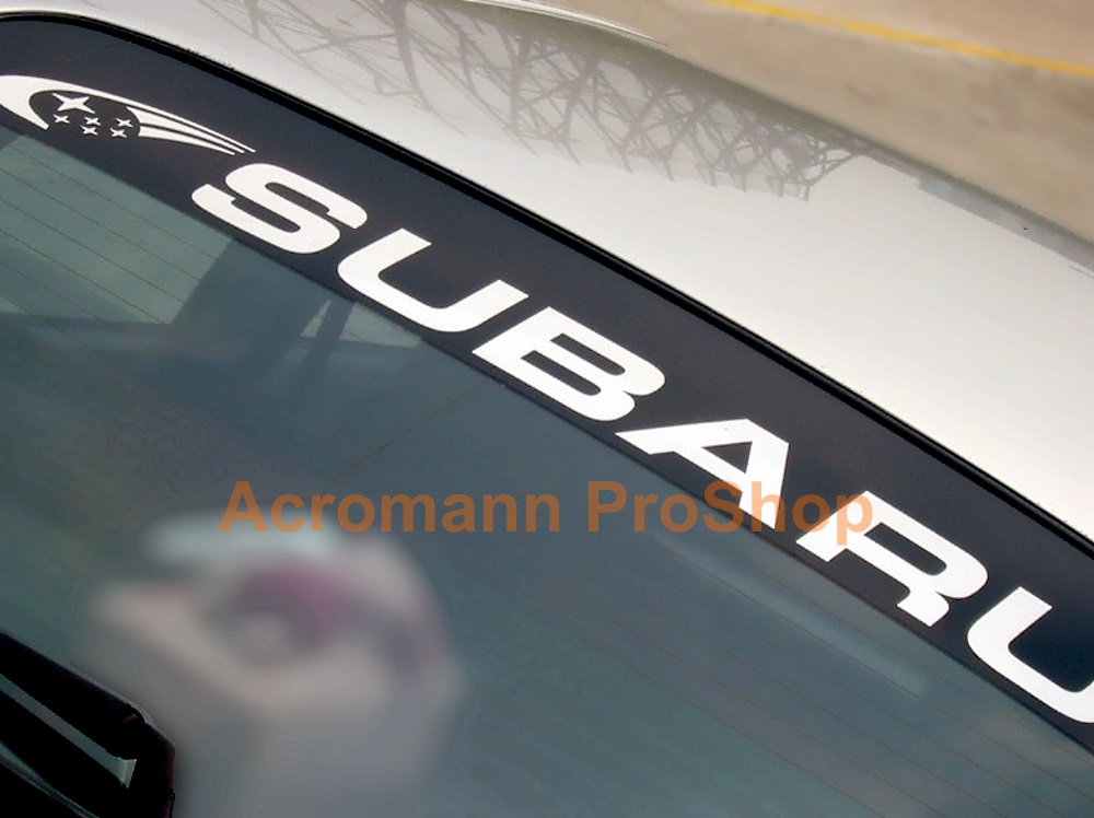 Subaru Windshield Decal (Style#4)