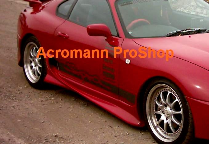 Toyota Supra Side Door Decal x 1 pair (LHS & RHS)