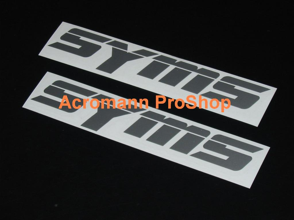 SYMS 6inch Decal x 2 pcs