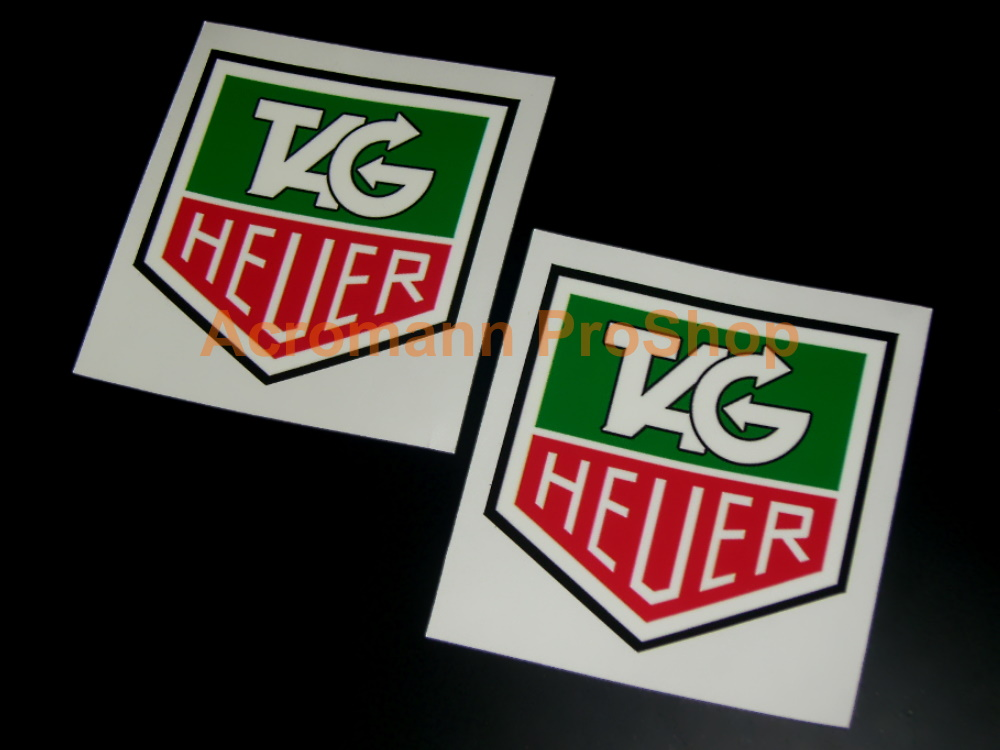 TAG Heuer 3inch Decal (Style#1) x 2 pcs