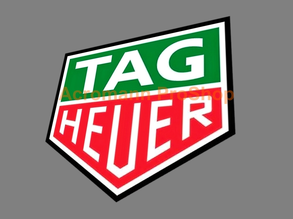 TAG Heuer 3inch Decal (Style#2) x 2 pcs