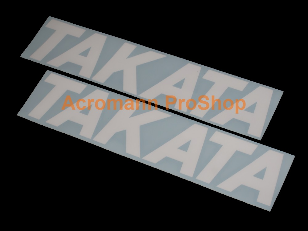 TAKATA 6inch Decal (Style#1) x 2 pcs