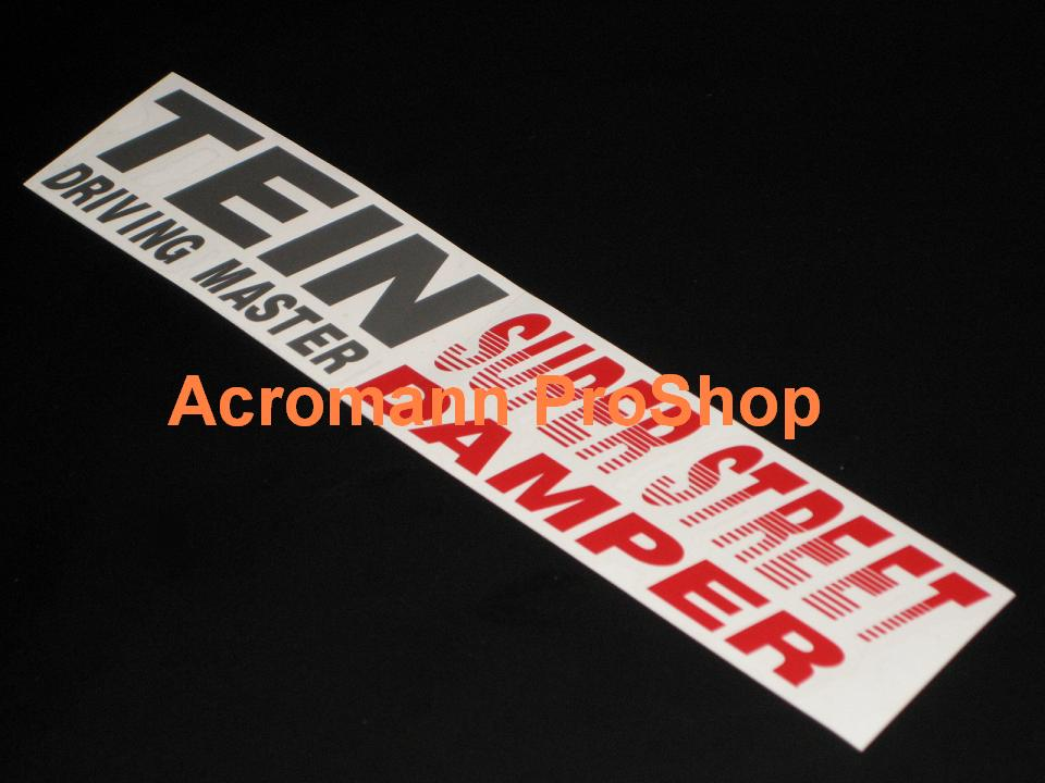 TEIN Driving Master 8.5inch Decal x 2 pcs