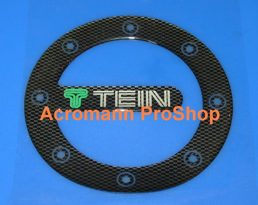 TEIN Carbon Gas Door Emblem (Style#2)
