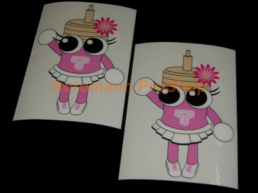 TEIN Dampatty 4inch Decal x 2 pcs