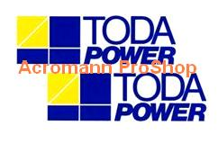 TODA Power 6inch Decal (Style#1) x 2 pcs